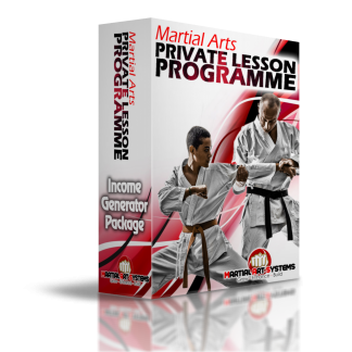 Martial Arts Private Lesson Programme - FULL TURN KEY PROGRAMME & MORE